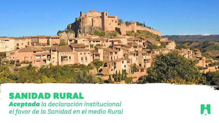 El senado aprueba una declaración institucional a favor de la sanidad en el medio rural